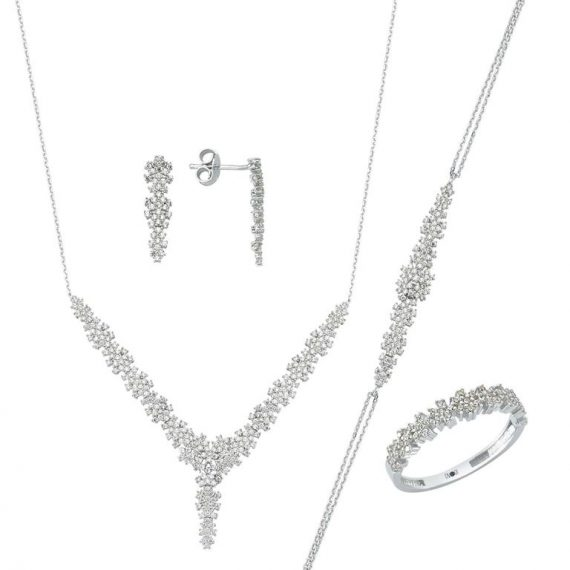 White Gold Set