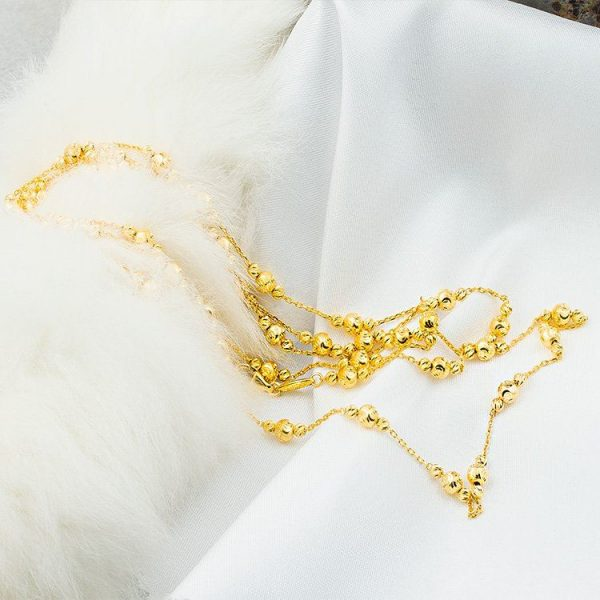 Gold Chain with Balls