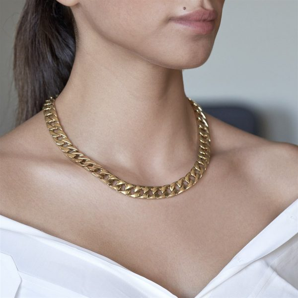 Gourmet Chain Gold Necklace